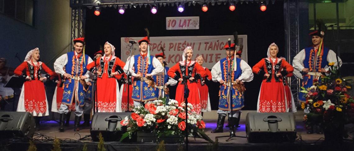10-lecie Zespołu Pieśni i Tańca Sułkowianie z Agnieszka Zabawa
